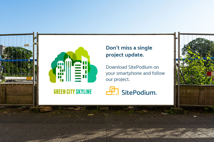 SitePodium construction banner