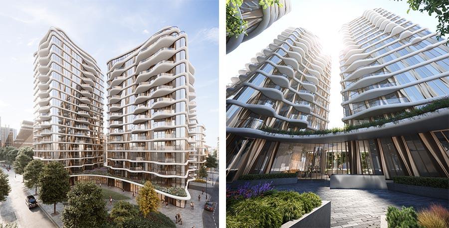 Triptych Bankside - Southwark